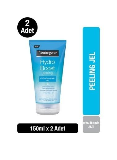 Neutrogena Hydro Boost Pürüzsüzleştirici Peeling Jel 150 Ml X2 Renksiz